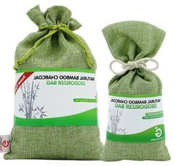 Starter Pack. Bamboo Charcoal Deodorizer Power Pack Bundle w
