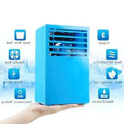 Madoats 9.5-inch Super Mini Portable Air Conditioner Fan Sma