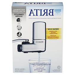 Brita On Tap Faucet Water Filter System, Chrome, 1 ea