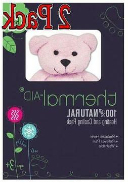 Thermail-Aid Heating and Cooling Pack, Pink Bear, 1ct, 2 Pac