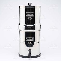 Travel Berkey Water Filter WITHOUT Black Filters Authorized