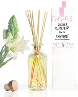 Urban Naturals Tuberose Fragrance Oil Reed Diffuser | Exotic