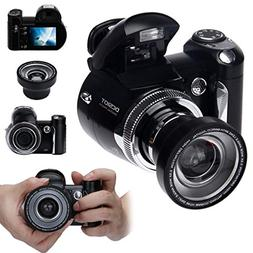 Boyiya Digital Camera Upgrade Version 16.0MP 2.4inch TFT Dig