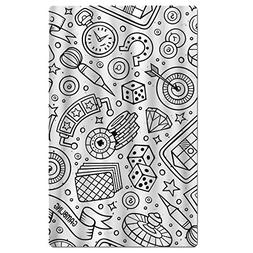 Gonse Utility Awesome Game Comics Round Beach Towel