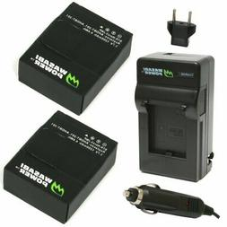 Wasabi Power Battery  and Charger for GoPro HERO3+, HERO3