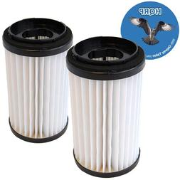 HQRP 2-Pack Washable HEPA Filters fits DCF-1 / DCF-2 Kenmore