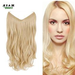 "Creamily 20"" Wavy Curly Blonde Synthetic Hair Extension Secr"