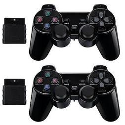 2 Pack Wireless Controller 2.4G Compatible with Sony Playsta