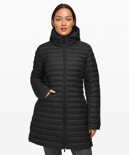 Lululemon Women's Pack It Down Jacket *Long - Black Size 2 N
