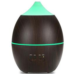 LSIKA-Z 300ml Woodgrain Aromatherapy Essential Oil Diffuser
