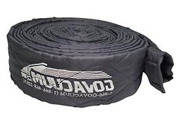 ZVac 30 Ft Central Vacuum Hose Sock Cover - Grey